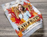 Good Bye Autumn – Free Flyer PSD Template + Instagram t