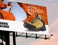 Nord Blanc reklamní kampaň na novou kolekci bot