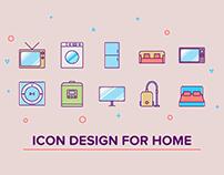 Icon design for home