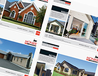 Monier Bricks & Roofing advertising and web