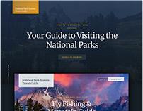 National Park Guide | Concept