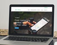 XENMATICS Website Design Concept