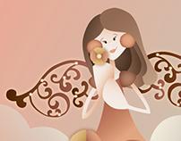Modeles Angel Poster