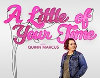 'A Little of Your Time with Quinn Marcus' - Key Art