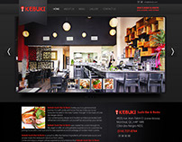 Sushi Bar Web Design
