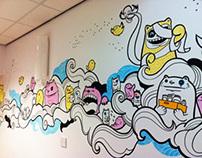 Sheffield Children's Hospital Ward Mural