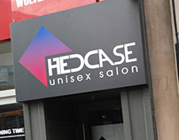 Hedcase Unisex Salon - Complete Branding Package