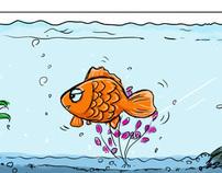 A dream of fish