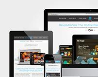 Responsive Site Design Concept