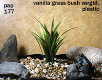 vanilla grass, plstc., 1012, ron beck designs