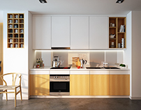 Kitchen - TD Apartment
