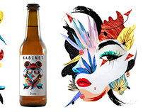 Beer label DISCO IPA | Created for Kabinet Brewery