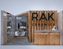 Rak Ceramics exhibition stands