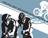 Race Across America 2010 Poster