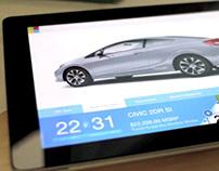 Honda Wheelstand iPad App