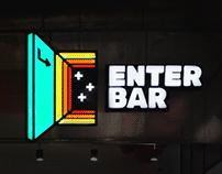 Enter Bar \ branding and wall graphics