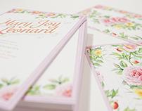 Mary Joy and Leonard — Wedding Invitation