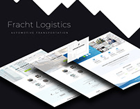 Logistics Company Site - UI/UX Design