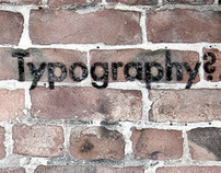 Is Graffiti just illicit Typography?
