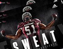2015 Eastern Kentucky University football posters