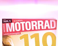 Motorrad OC-Station Advertising