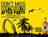 Tusker Lager Driftwood 7s 2015