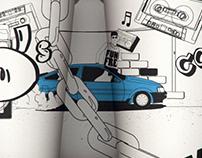 Corolla Illustrated Cups