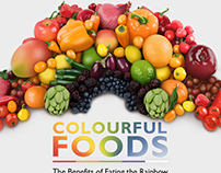Colourful foods - infographic