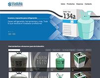 Vostoks Sitio web Responsive