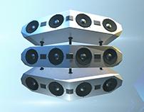 Futuristic Speaker Design