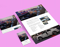 Website Design for Local Chauffeur Service