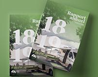 Rapport annuel Camping Québec