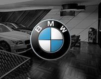 BMW 7 Series 2015 showroom