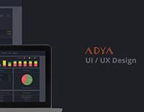 Adya - UI UX Design