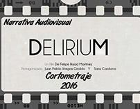 Afiches cortometraje Delirium