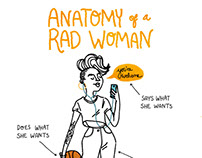 Anatomy of a Rad Woman