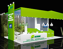 Exhibition stand for Ilim group
