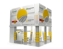 "Booth design for ""Agrovet Athlantic"""