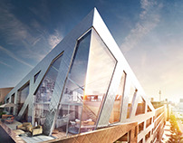 Visualization for Sapphire by Daniel Libeskind
