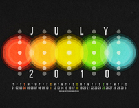 Calendar Wallpaper Series 2010