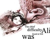 illustraton for Alice in Wonderland