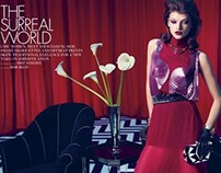 The Surreal World - ELLE US