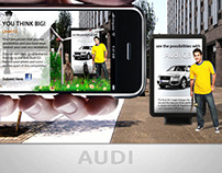 Audi Ad Design