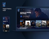Viasat History VOD website