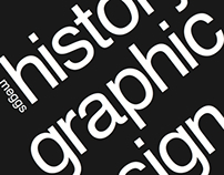 Meggs History of Graphic Design: Book Cover Redesign