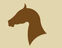 Horse logo style
