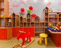 """""""Chashka"""" espresso bar_children's room"""