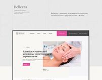 Bellezza beauty clinic web site
