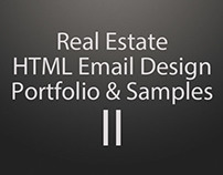Real Estate HTML Email Design Portfolio & Samples - II