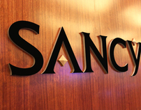 Sancy, Marina Bay Sands Singapore : Brand identity